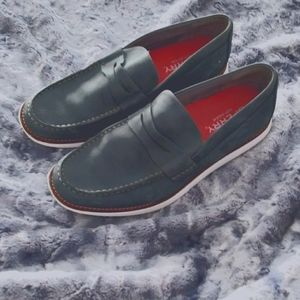 Mens suade Sperry loafers